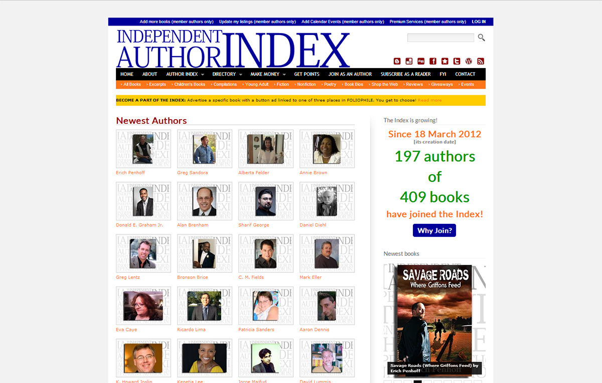 The Independent Author Index
